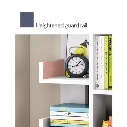 iDECO 7 Tiers Bookcase Utility Shelf Bookshelf File Rack Storage Rack Home Deco DIY Book Rack Buku Rak Dekorasi