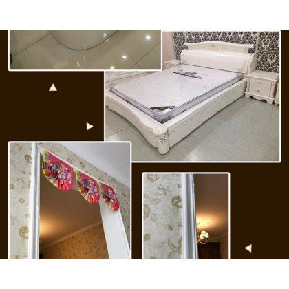 iDeco Wall Skirting Wall Decoration Line Photo Frame Line Wainscoting ID1036 (1roll=5meter)