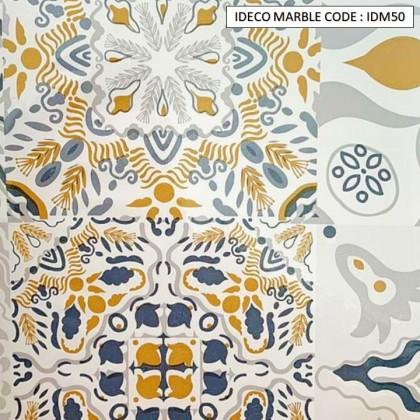 iDECO (60cm x 5 meter) DIY Marble Wallpaper Cabinet Wallpaper Furniture Film