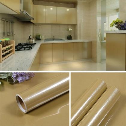iDECO (60cm x 5 meter) DIY Cabinet Wallpaper Cabinet Furniture Film Kabinet