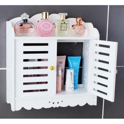 IDC Living Room Bedroom Bathroom Kitchen Cosmetic Toilet Rack Wall Storage Organizer Self Rack