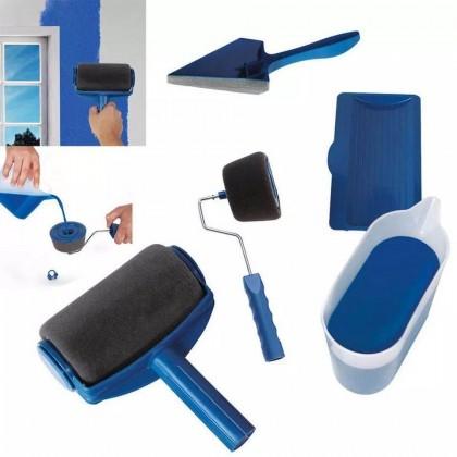 iDECO (6pcs Set) Roller Pengecat Mudah Alih Pintar Facil Smart Pintar Paint Roller